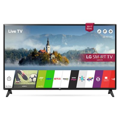 LG 43LJ594V 43 Inch Full HD LED Smart TV with Freeview Play in Black
