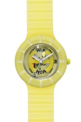 Hip Hop Unisex Ghost Yellow Strap Watch HWU0094