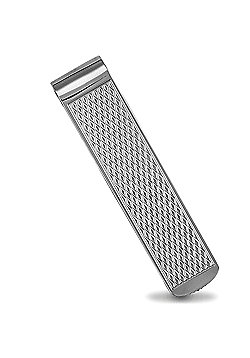 Jewelco London Sterling Silver - Diamond pattern - Money Clip - Mens