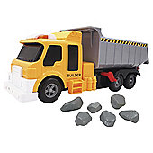 Fuel Line Construction Lights And Sound Dump Truck
