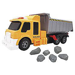 Fuel Line Construction Lights And Sound Dump Truck