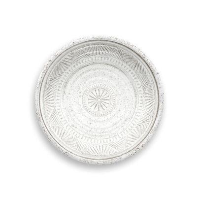 Epicurean Artisan Melamine Side Plate White 21cm