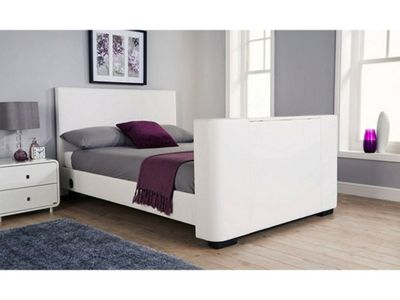 Newark Electric Tv Bedstead White