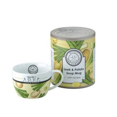 The DRH Collection Mackie's Leek and Potato Soup Mug