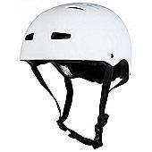 Sushi Multisport Matt White Helmet - 50 - 53cm - S/M