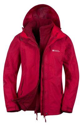 Mountain Warehouse Storm 3 in 1 Womens Waterproof Jacket ( Size: 22 )