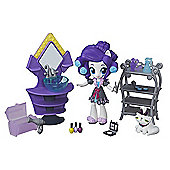 My Little Pony Equestria Girls Minis Rarity's Slumber Party Beauty Playset