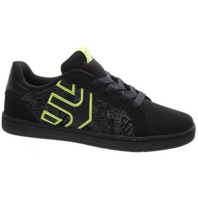 Etnies Fader LS Kids Black/Lime Shoe