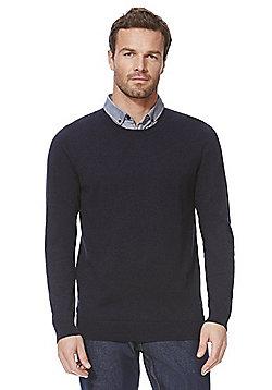 F&F Mock Shirt Layer Jumper - Blue