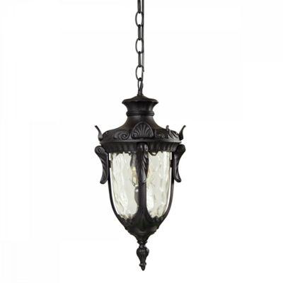 Black Chain Lantern - 1 x 100W E27