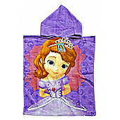 Disney Princess Sofia Hooded Poncho Towel