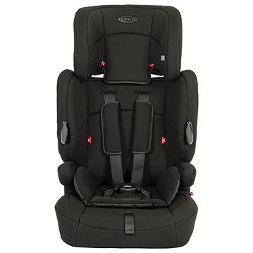 f418dc159d82 Graco Endure High Back Booster Car Seat with harness, Group 1-2-3, Black  Catalogue Number: 741-0005
