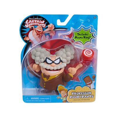 Just Play Captain Underpants Collectible Figure - Professor Poopy Pants