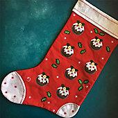 Christmas Pudding Stocking