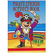 A6 Pirate Sticker Activity Book