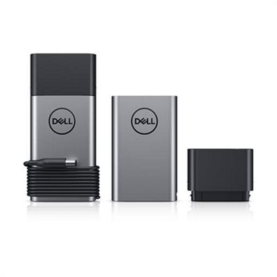 DELL 450-AGHK Lithium-Ion (Li-Ion) 12800mAh Black Silver power bank