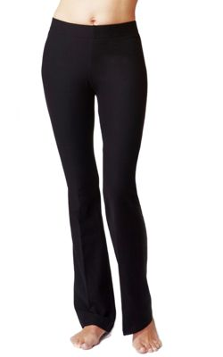 Women's Slimming Shaping Yoga Bootcut Bottoms Short Length 29
