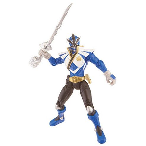 Power Rangers Super Samurai Action Figure - Blue Super Mega Ranger