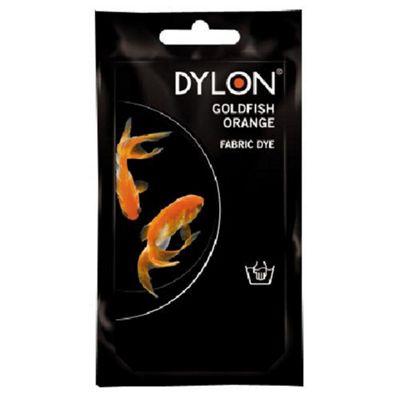 Dylon Fabric Dye - Hand Use - Goldfish Orange