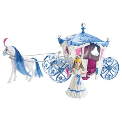 Disney Princess Cinderella Mini Doll Wedding Carriage