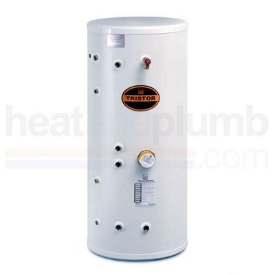 Telford Tristor SEALED SYSTEM Thermal Store Copper Cylinder Supplying Mains Pressure Hot Water 200 LITRES