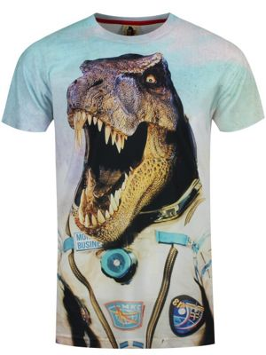 Monkey Business Astro T-Rex Men's T-shirt