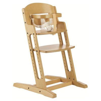 BabyDan DanChair Wooden Safety High Chair Nature