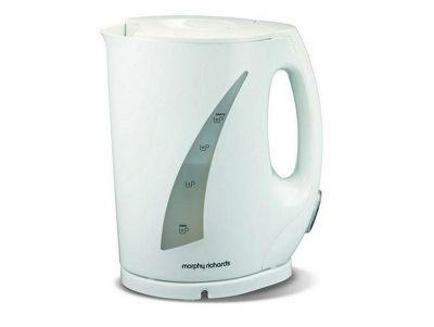 Morphy Richards New Essentials Jug Kettle 1.5L- White
