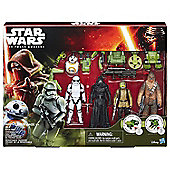 Star Wars The Force Awakens Forest Mission 5 Figure Set