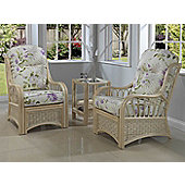 Desser Vale 2 Piece Conservatory Chair Set and Lamp Table