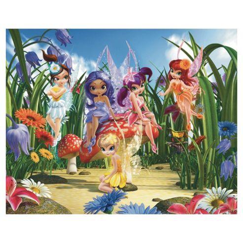 Magical Fairies Wallpaper Mural 8ft x 10ft