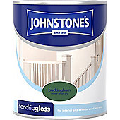 Johnstone's 303881 Non-Drip Gloss Paint - Buckingham 0.75 litre