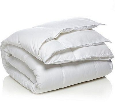 Single 4.5 Tog Microfibre Duvet With Non Allergenic Hollowfibre Filling Snug Soft Touch Cover