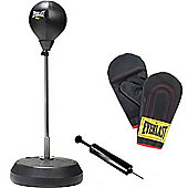 Everlast Free Standing Punch Bag With Bag Gloves And Pump