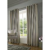 Alan Symonds Burj Eyelet Curtains - Mink