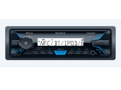 Sony DSX M55BT Marine Mechless Usb/Mp3/Ipod/Bluetooth/Aux Media Receiver Stereo