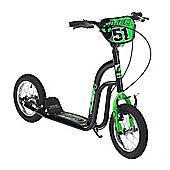 "Concept Alien 12"" BMX Style Push Kick Scooter Black"