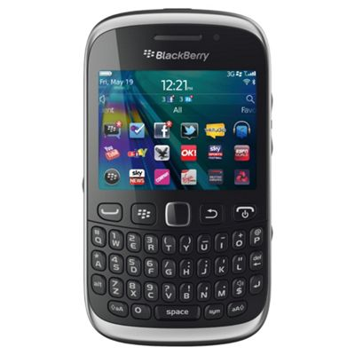 Unlocked BlackBerry® Curve™ 9320 Black -SIM Free