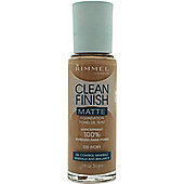 Rimmel Clean Finish Matte Foundation 30ml - 120 Ivory