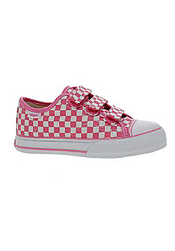 Vans Big School Checkerboard Aurora Pink/White Toddler Shoe DWOCK1 - Pink