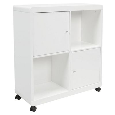 Viva Office Storage Cube , White