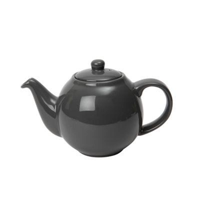 London Pottery Globe Teapot, 6 Cup, Grey