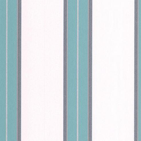 Superfresco Easy Harlow Paste The Wall Metallic Stripe Teal Wallpaper