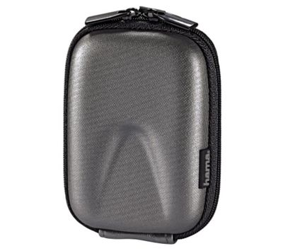 Hama Hardcase Thumb Camera Bag, 40 G, silver
