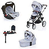 ABC Design Salsa 3 in 1 Isofix Travel System - Graphite