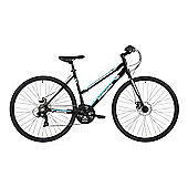 "Barracuda Hydrus 19"" Womens Hybrid Sports Road Bike Disc Brakes"