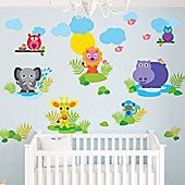 Jungle Fun Children's Wall Stickers