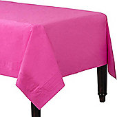 Hot Pink Paper Tablecover - 1.4m x 2.8m