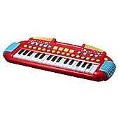 Carousel Red Rock Star Keyboard