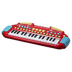 Carousel Red Rock Star Keyboard